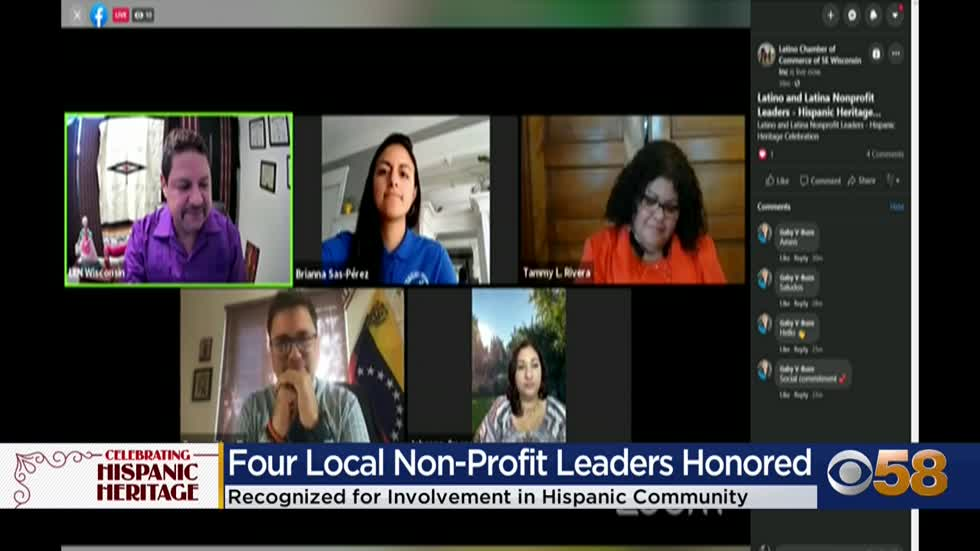 Four local nonprofit leaders honored during Hispanic Heritage...